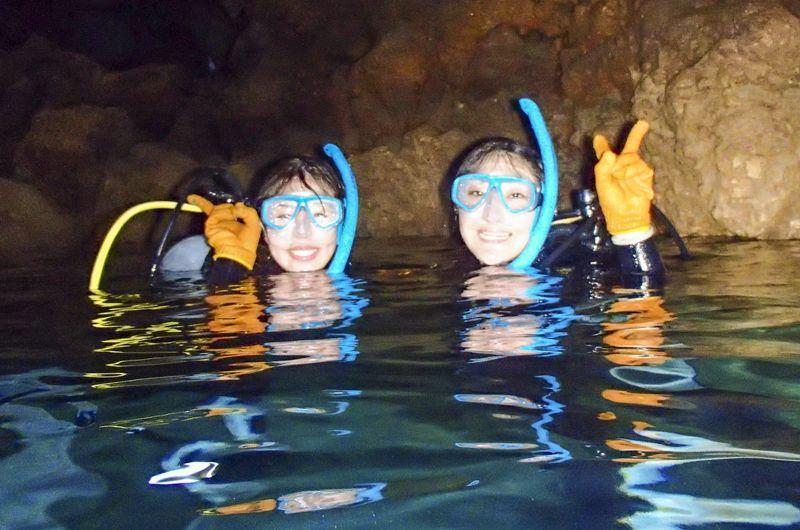 青の洞窟ライセンス取得