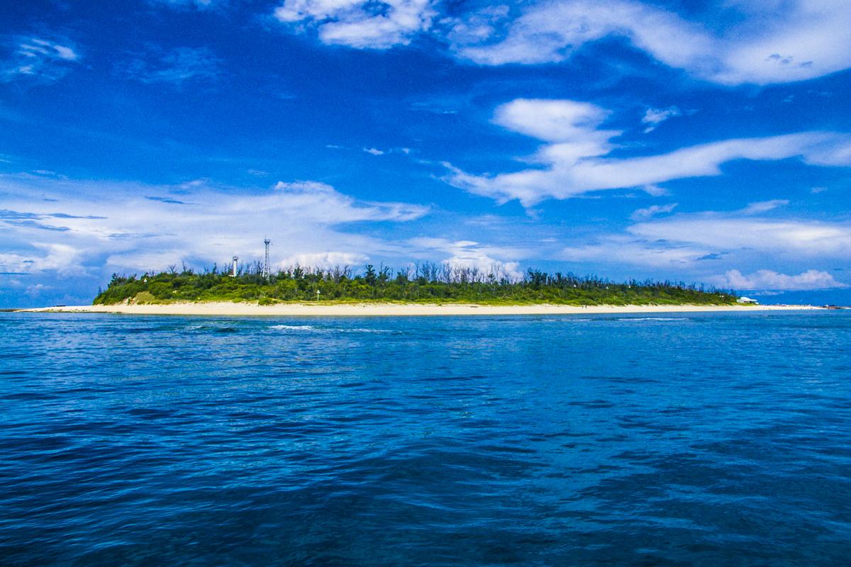 沖縄北部ダイビング 水納島