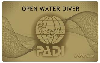 PADIオープンウォーター じっくり3日間コース