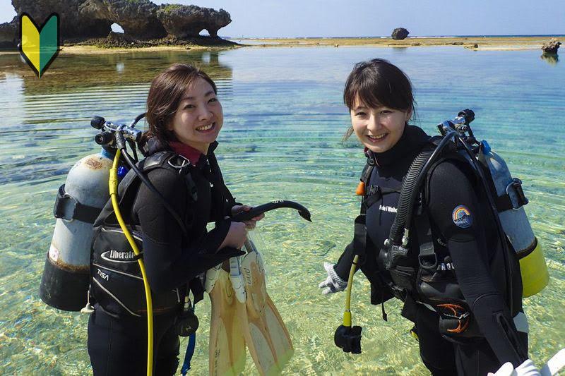 青の洞窟&水納島で体験ダイビング 格安WEBキャンペーン