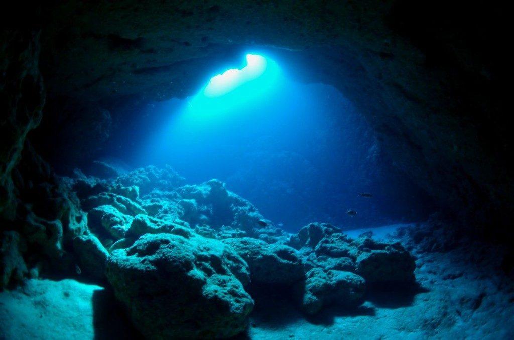 宮古島の幻想的な光