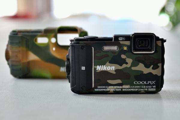 NIKON COOLPIX AW130の水中撮影