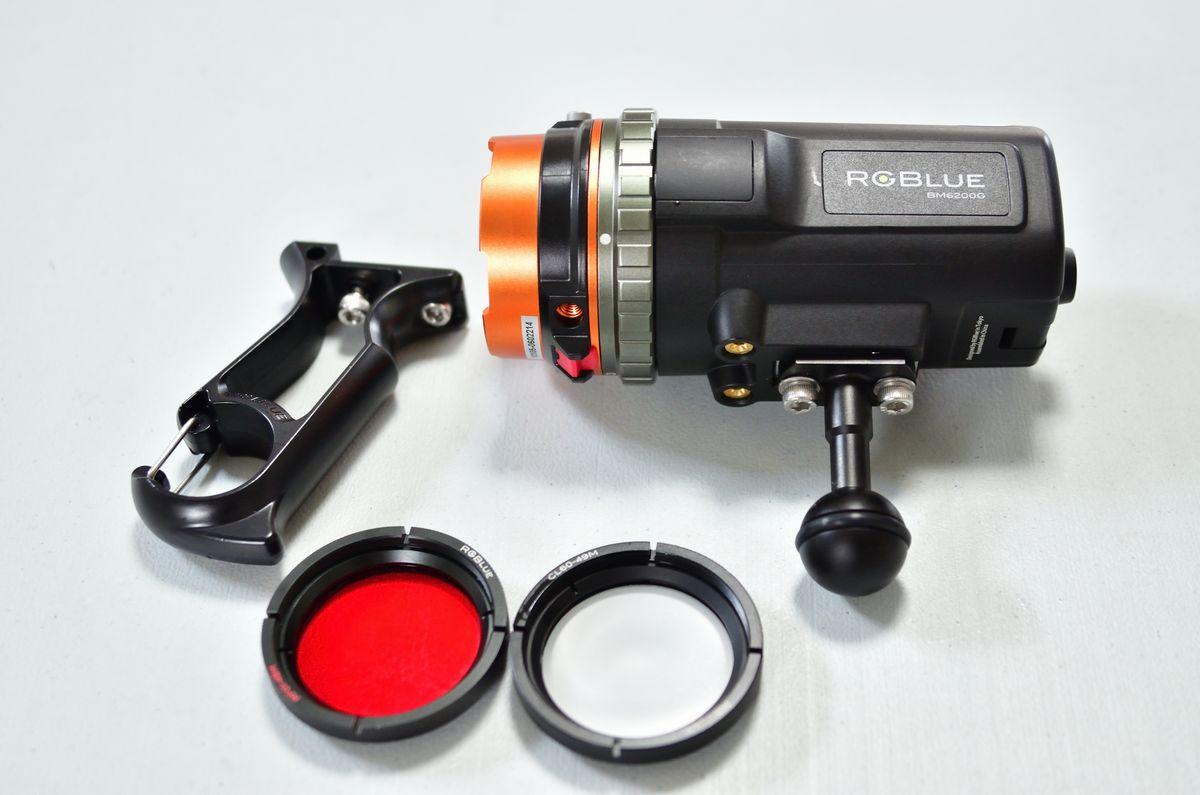 RGBlue(アールジーブルー)・水中ライト