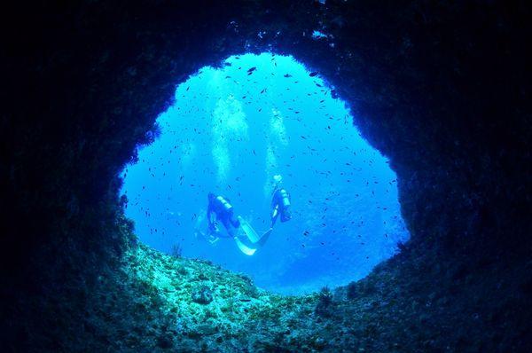 伊江島洞窟探検ツアーから戻ってきました!!