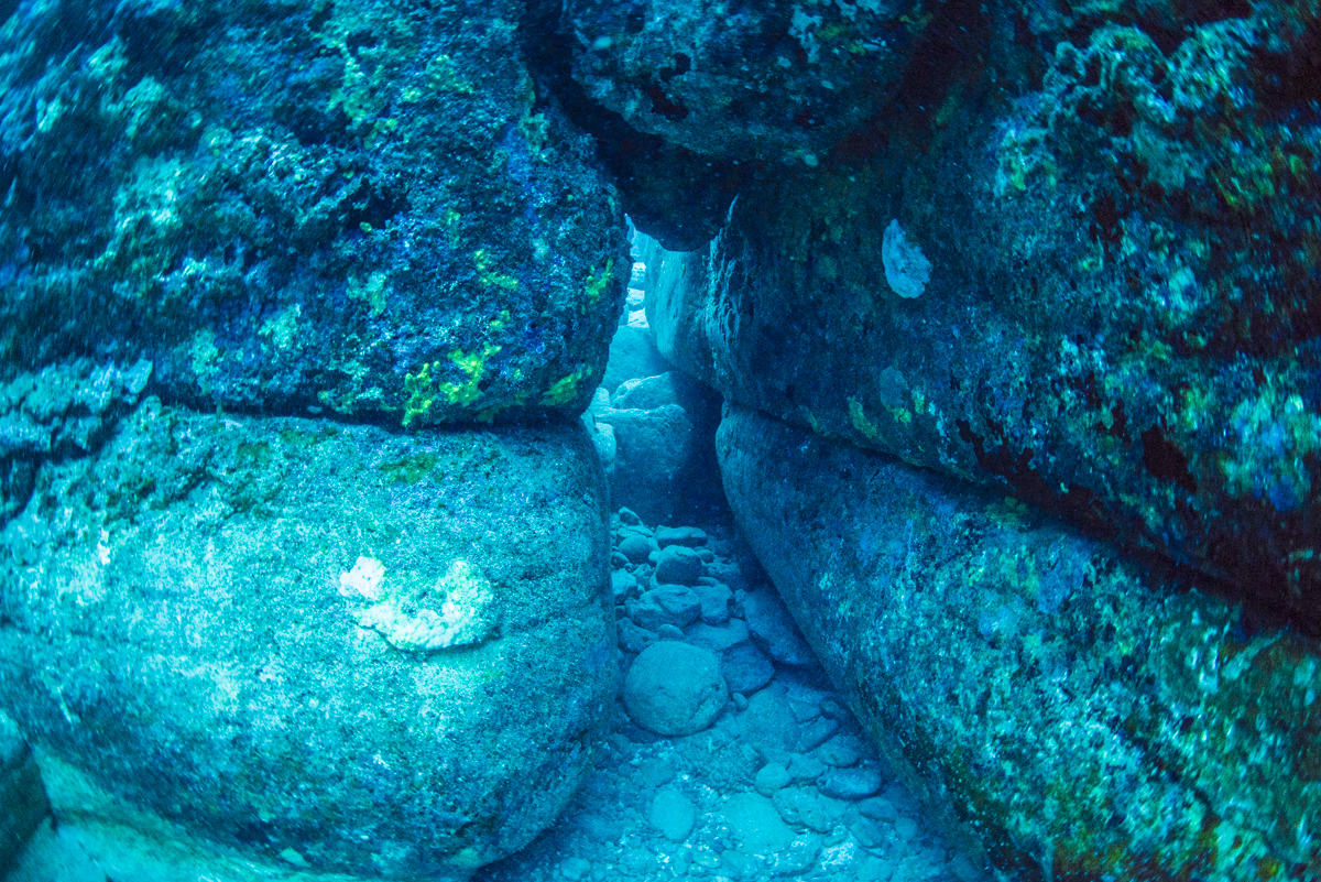 与那国海底遺跡 城門