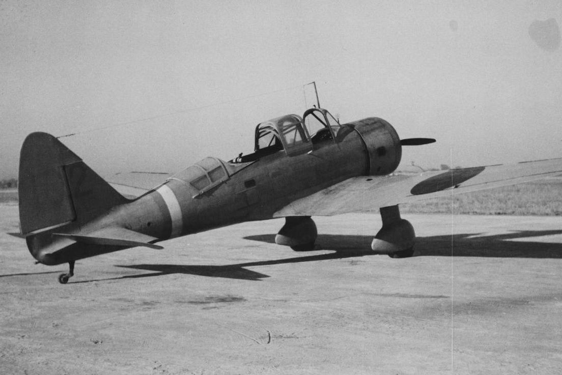 旧大日本帝国陸軍の98式直協機