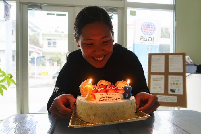 GW中(5月2日)の誕生日 ひかり、おめでとう!!