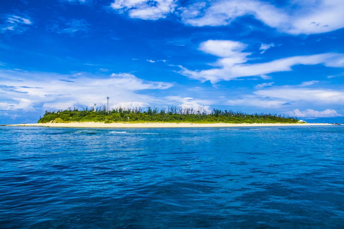 水納島で体験ダイビング