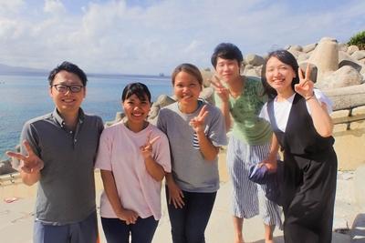 沖縄北部のゴリラチョップ・山田ポイントで講習!