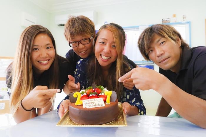 10月6日の誕生日 ゆみ、おめでとう!!
