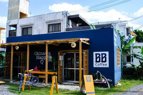 沖縄市にあるハッピーなおしゃれカフェ ≪BB Coffee≫
