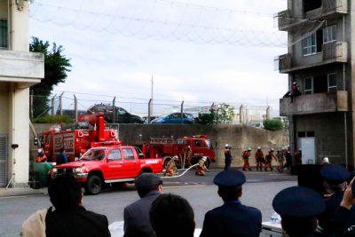 金武町消防出初式に行ってきました。