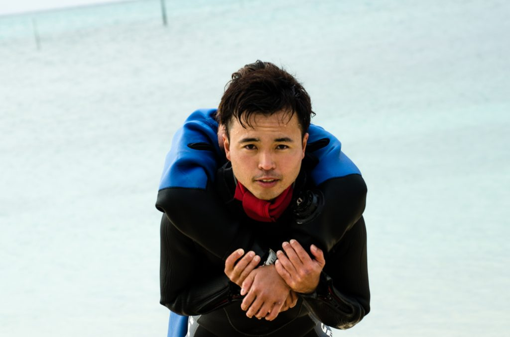沖縄 恩納村でレスキューダイバー講習
