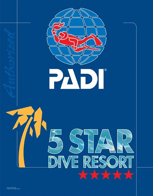 PADI・5つ星(5スター)ダイビングスクール