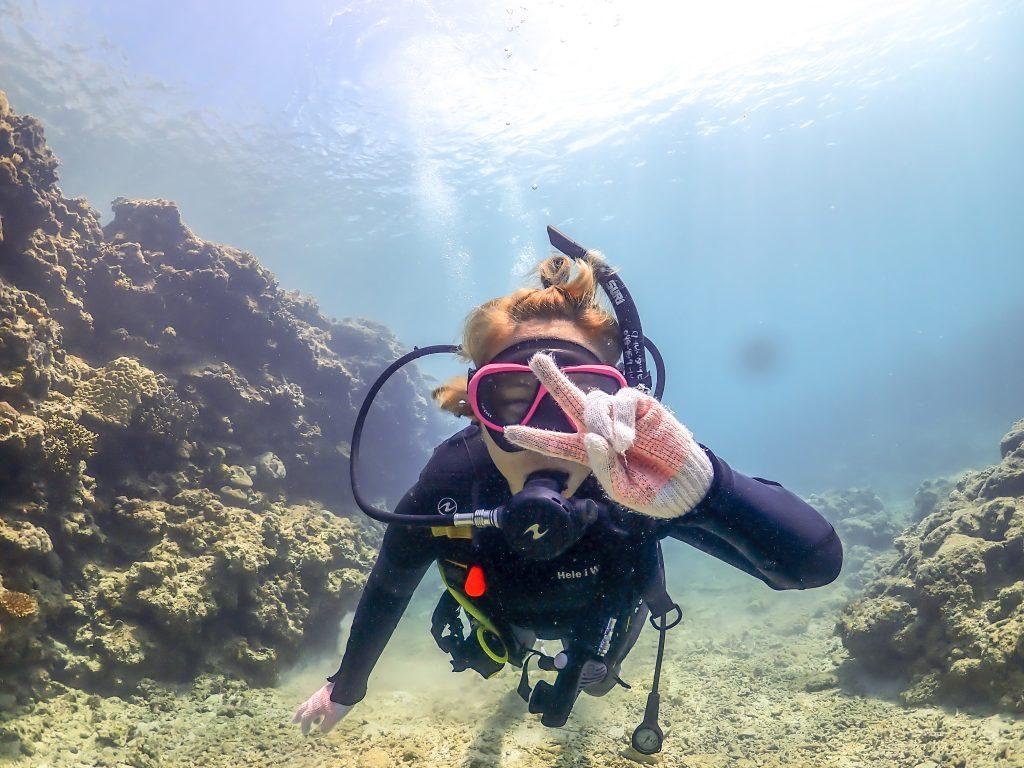 沖縄北部の癒しダイビングスポット ゴリラチョップ