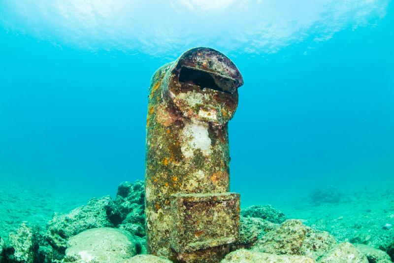 海底ポスト(水中ポスト)・砂辺遺跡 沖縄本島周辺