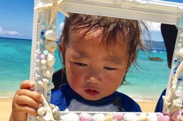 沖縄ダイビング 子供預ける