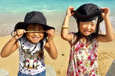 沖縄ダイビング 小さな子供