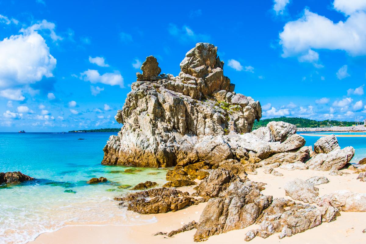 沖縄本島の北部ビーチ・体験ダイビング 半日コース