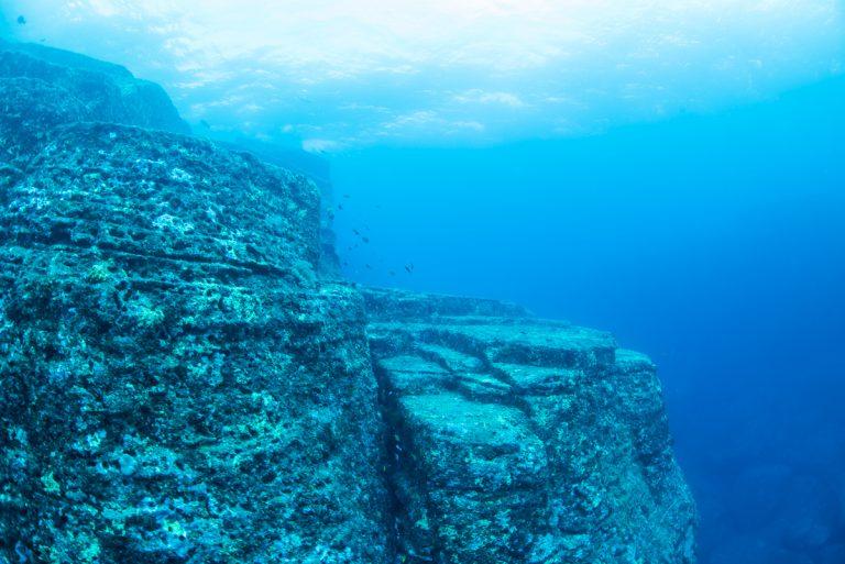 与那国海底遺跡のメインテラス