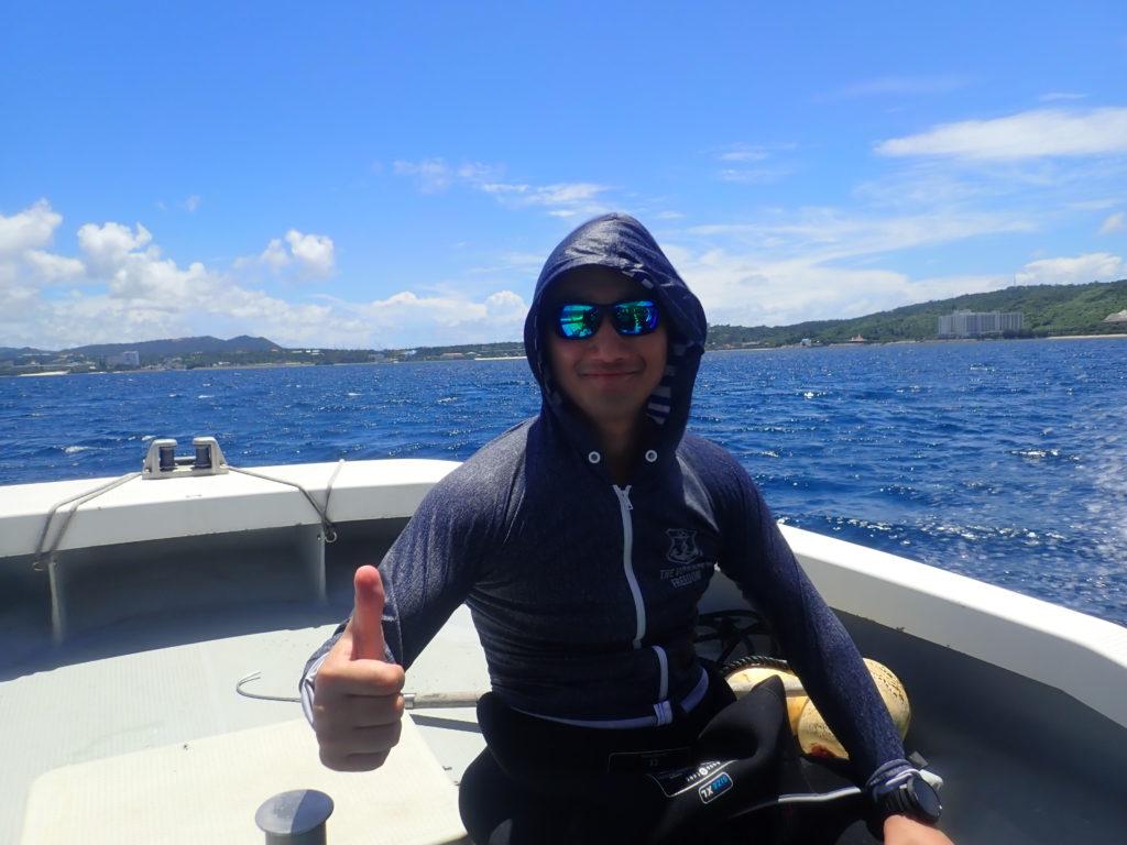 ボートダイビング