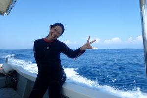超絶キレイな沖縄の海での講習(後編)