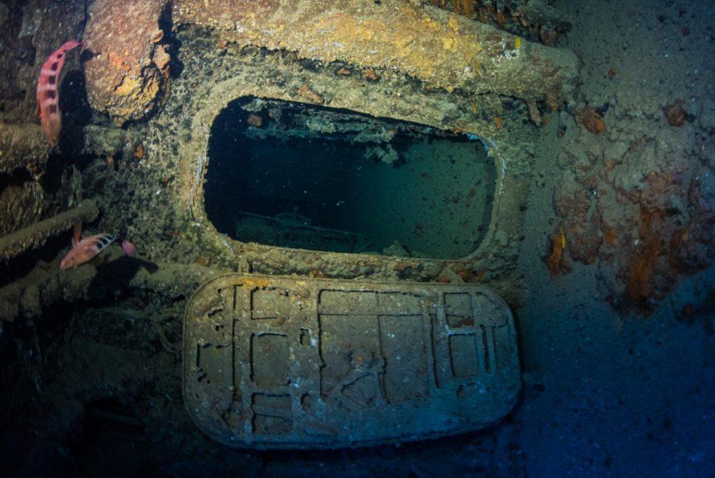 エモンズ・第二次世界大戦の沈没船