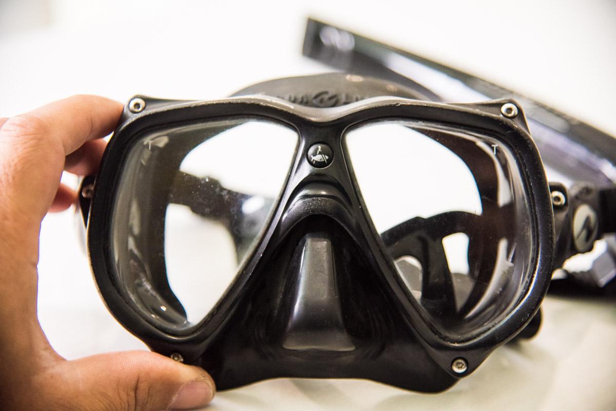 テクニカルダイビングマスク
