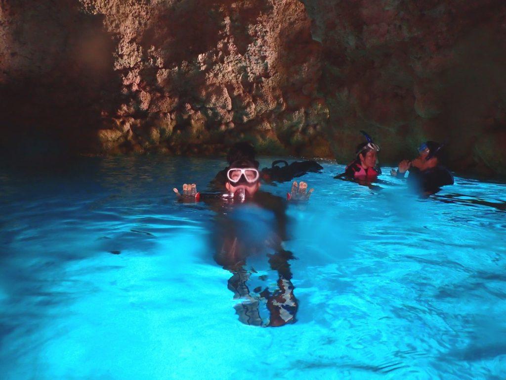 青の洞窟ダイビング☆地域共通クーポンも使えますよ~