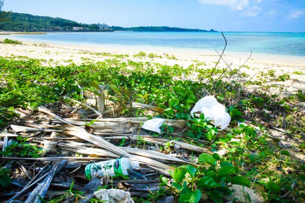 ポイ捨てマスク・世界の海で15億枚