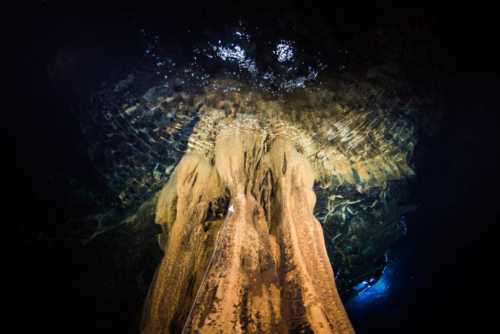巨大な鍾乳石・辺戸岬