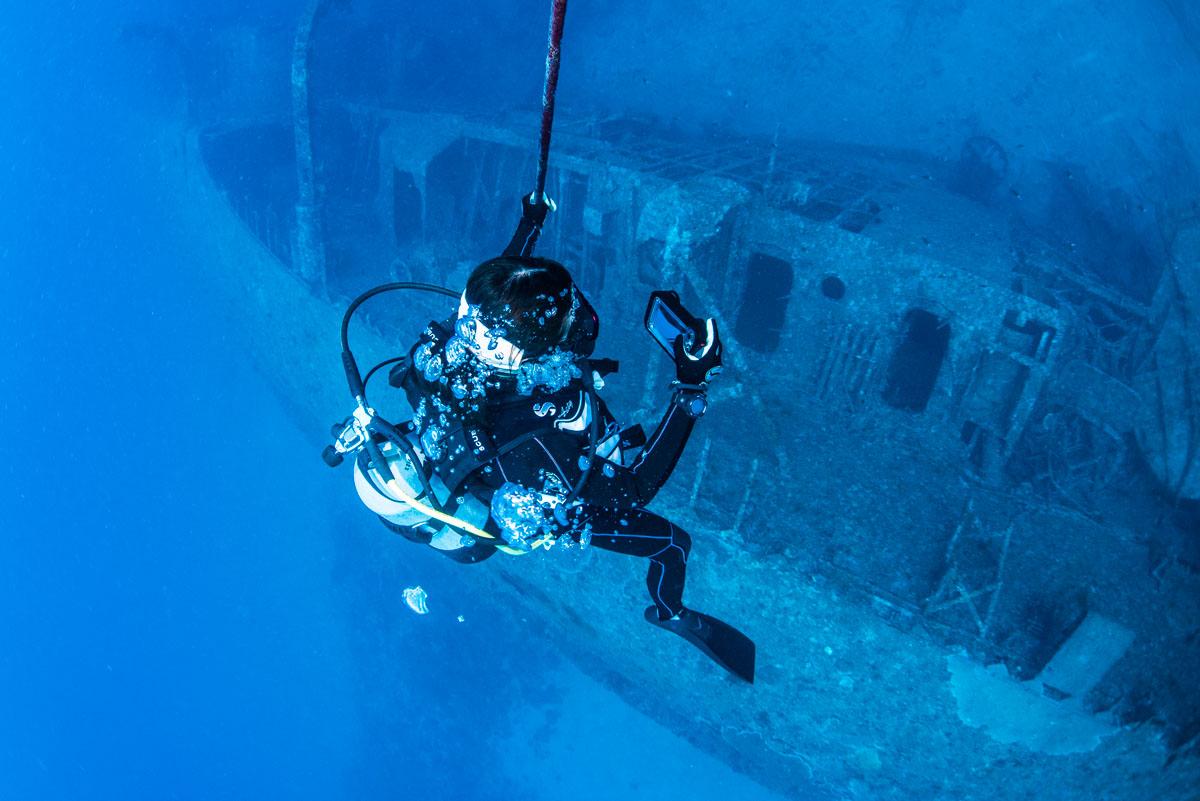 レックダイビング(沈没船)のスポットと資格